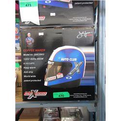New Robert Hight Racing Helmet Coffee Maker