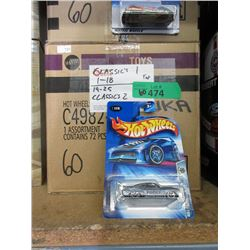 60 Assorted Hot Wheels in Sealed Packages