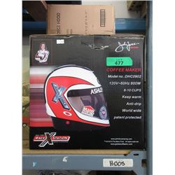 New Ashley Force Hood Racing Helmet Coffee Maker