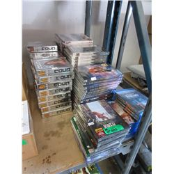40+ New Games, DVD Movies & TV Series