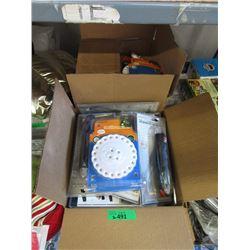 2 Cases of 24 LED Utility Lights - 12 Per Case
