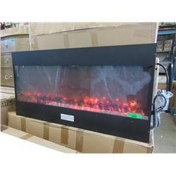 "New Wall Mount Electric Fireplace - 40"" x 20"""