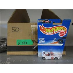 50 Assorted Hot Wheels in Sealed Packages