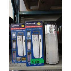 8 New 45 LED Utility Lanterns