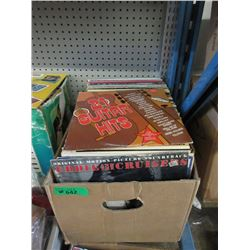 60 Assorted Vintage LP Records