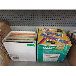 2 Boxes of Assorted Vintage LP Records