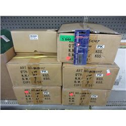 5 Cases of Torks Drill Bits
