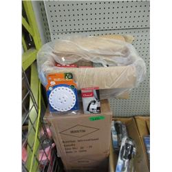 3 Cases of LED Utility Lights & Coffee Descaler