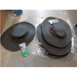 6 New Outback River Hats - Size S