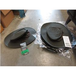 6 New Outback River Hats - Size M