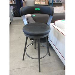 """New 30"""" Tall Swivel Stool with Metal Frame"""