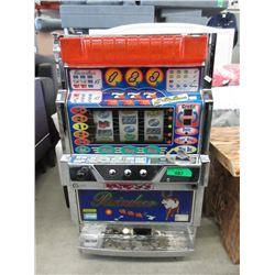 Reindeer Slot Machine with Tokens - As Is