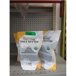 Five 1 Pound Blocks of Organic Shea Butter