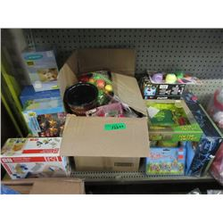 1 Box and 10 Lose New Games and Toys