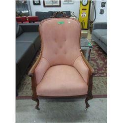 Victorian Balloon Back Parlour Chair ca1890
