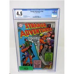 """Graded 1966 """"Strange Adventures #195"""" DC Comic"""