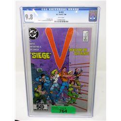 """Graded 1986 """"V #12"""" DC Comic"""