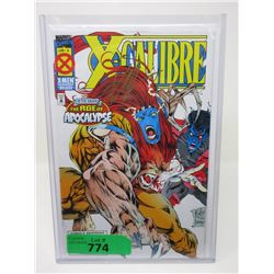 """1995 Signed & Certified """"X-Calibre #4"""" Comic"""