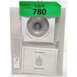 1/10 Oz. 1995 Canada .9999 Platinum Lynx Coin