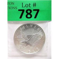 """1 Oz. .999 Fine Silver """"Silver Eagle"""" Round"""