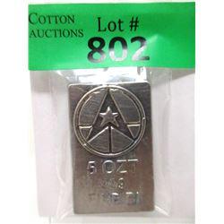 5 Oz. .999 Fine Bismuth Bullion Bar