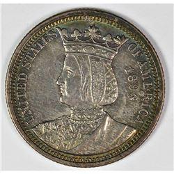 1893 ISABELLA QUARTER