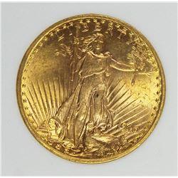 1910 $20 ST. GAUDEN'S GOLD