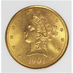 1901-S $10.00 GOLD