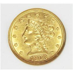 1903 $2.50 LIBERTY GOLD
