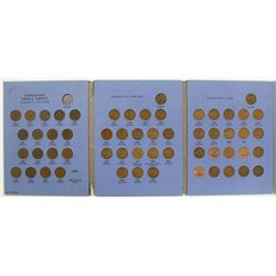 COMPLETE CANADA CENT SET: 1920-1966