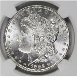 1882-P MORGAN SILVER DOLLAR