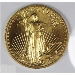 1990 $25 GOLD AMERICAN EAGLE