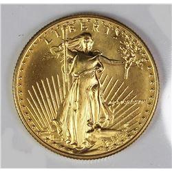 1989 $25 AMERICAN GOLD EAGLE