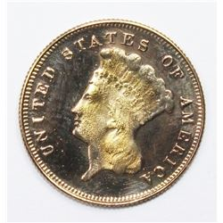 1888 $3.00 GOLD