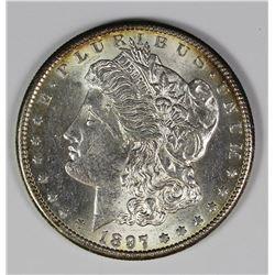 1897-S MORGAN SILVER DOLLAR