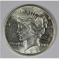 1926-D PEACE SILVER DOLLAR
