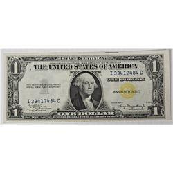 1935-A $1.00 NORTH AFRICA SILVER CERTIFICATE