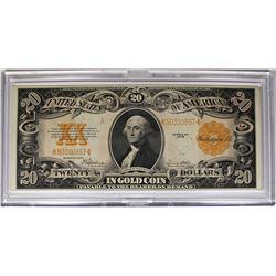 1922 $20 GOLD CERTIFICATE