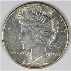 1928-S PEACE DOLLAR