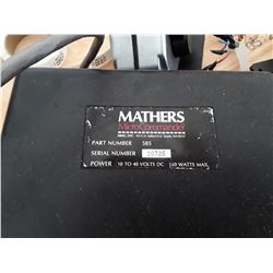Mathers Microcammander Boat Engine Control System