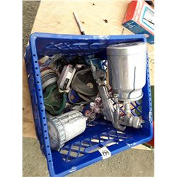 Crate of Painting Equipment