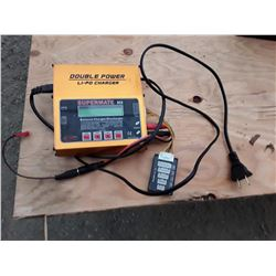 Dynam Supermate DC6 Double Power Lithium Polymer Battery Charger.