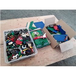 Large Lot of Lego - 2 Boxes