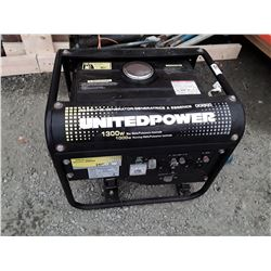 United Power 1300 watt Gas Generator