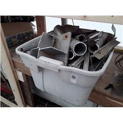 Tote of Scrap Metal