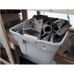 Tote of Scrap Metal