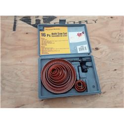 16 Piece Holesaw Kit