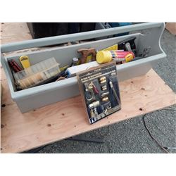 Large Tool Caddy With Various Tools