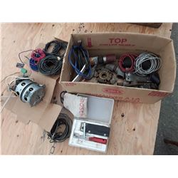 Box of Misc - Wires and More