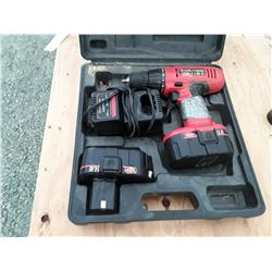 King Canada Drill Set With 2 Batteries and Charger